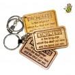 "Keychain ""Kindness Is The Language"""