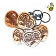Keychain - Heart - I Love Philippines