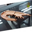 Wooden Shrimp Tray