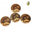Wood Ref Magnet Circle - Wow Philippines