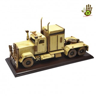 Wood Miniature Primemover Old (Transformer)