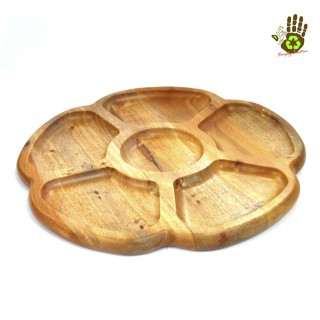 Wooden Tray Clover