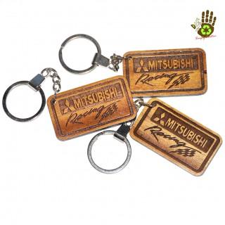"""Keychain """"Mitsubishi"""" Vehicle Logo"""