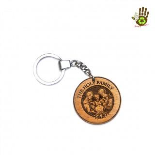 "Keychain ""Holy Family"" Religious"