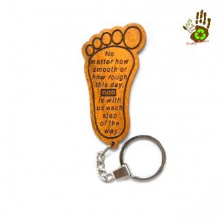 "Keychain ""Footstep"""