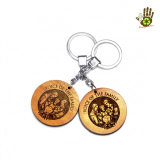 """Keychain """" Voice Of The Family"""""""