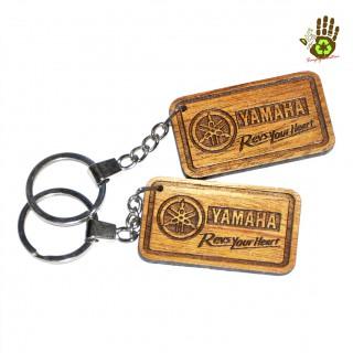 """Keychain """"Yamaha"""" Vehicle Logo"""