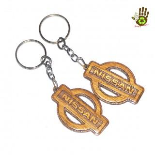 "Keychain ""Nissan"" Vehicle Logo"
