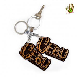 """Keychain """"Cebu"""" Bamboo"""