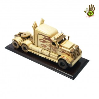 Wood Miniature Primemover New (Transformer)