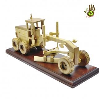 Wood Miniature Grader Collector's Item Big