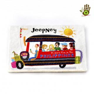 Cement Board Ref Magnet 2 X 3 - Jeepney Its More Fun